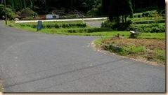 池田湖1周サイクリング・池底下分岐点