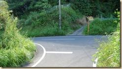 池田湖1周サイクリング・仙田農道入り口