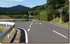 池田湖1周サイクリング・ルート仙田農道終わり