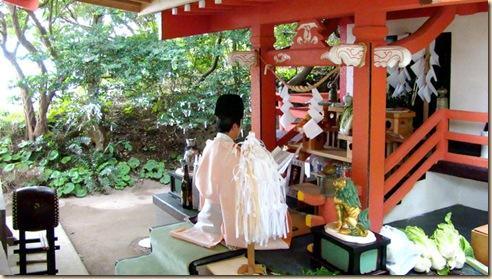 釜蓋神社でお祓い