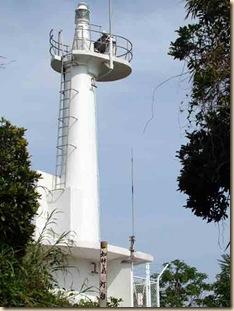 知林ヶ島の灯台・指宿市