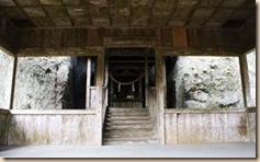 清水の湧水横の水元神社 鹿児島県川辺観光